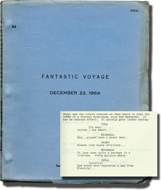 Fantastic Voyage (Original screenplay for the 1966 film): Fleischer, Richard (director); Harry ...