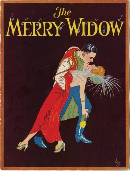 The Merry Widow (Original Program for the 1925 film): von Stroheim, Erich (director, screenwriter);...