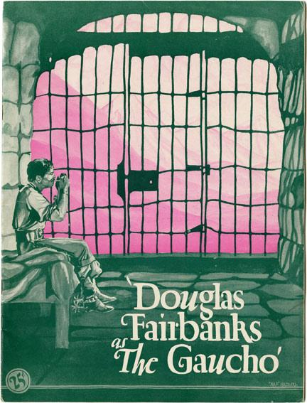 The Gaucho (Original Film Program): Douglas Fairbanks, Lupe Velez (starring)