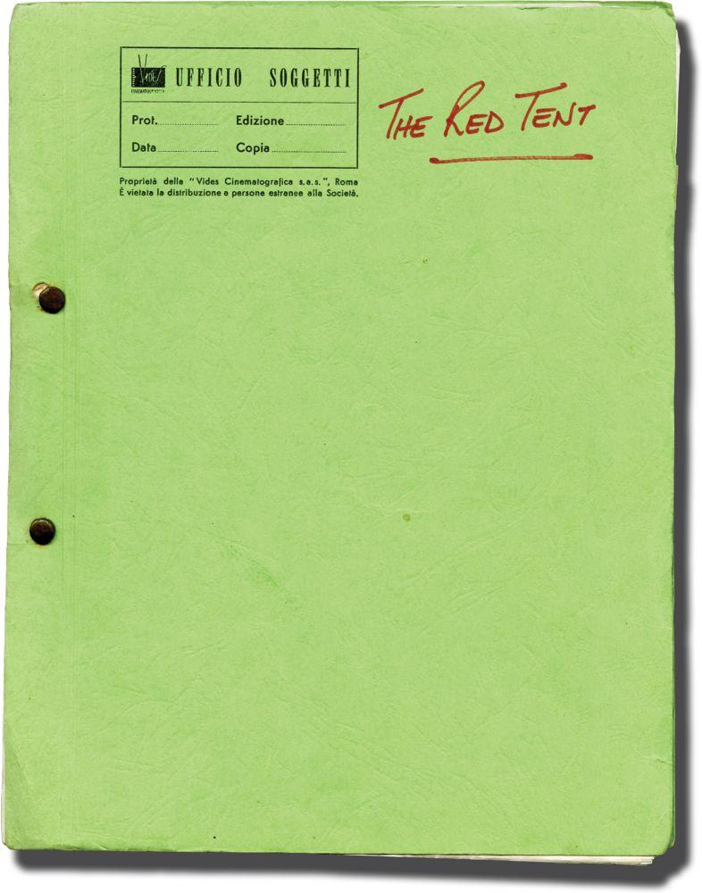 The Red Tent (Working script for the 1969
