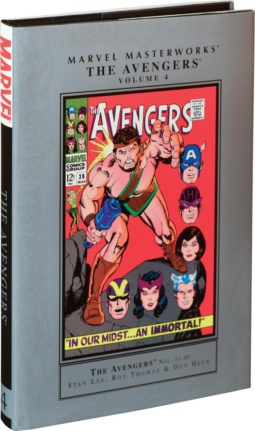 The Avengers Nos. 31-40 [Marvel Masterworks Volume 4] (First Edition): Stan Lee and Roy Thomas (...