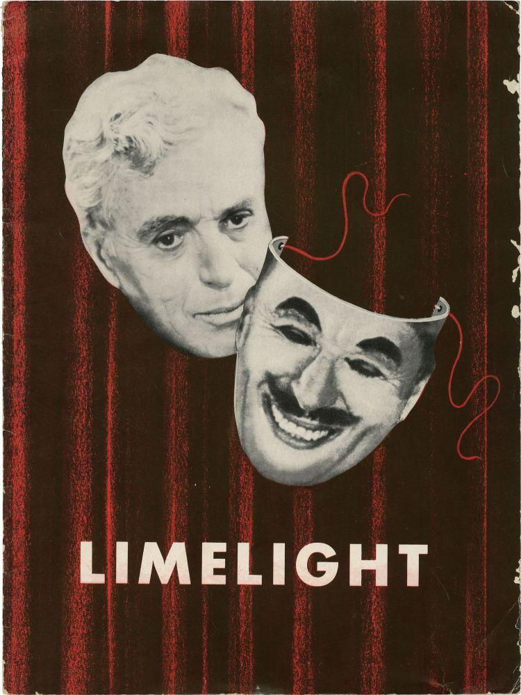 Limelight (Original Film Program): Chaplin, Charles [Charlie] (director, screenwriter, starring); ...