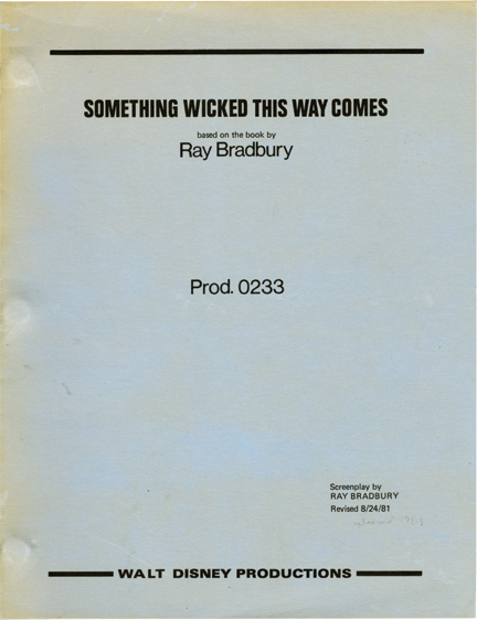 Something Wicked This Way Comes (Original