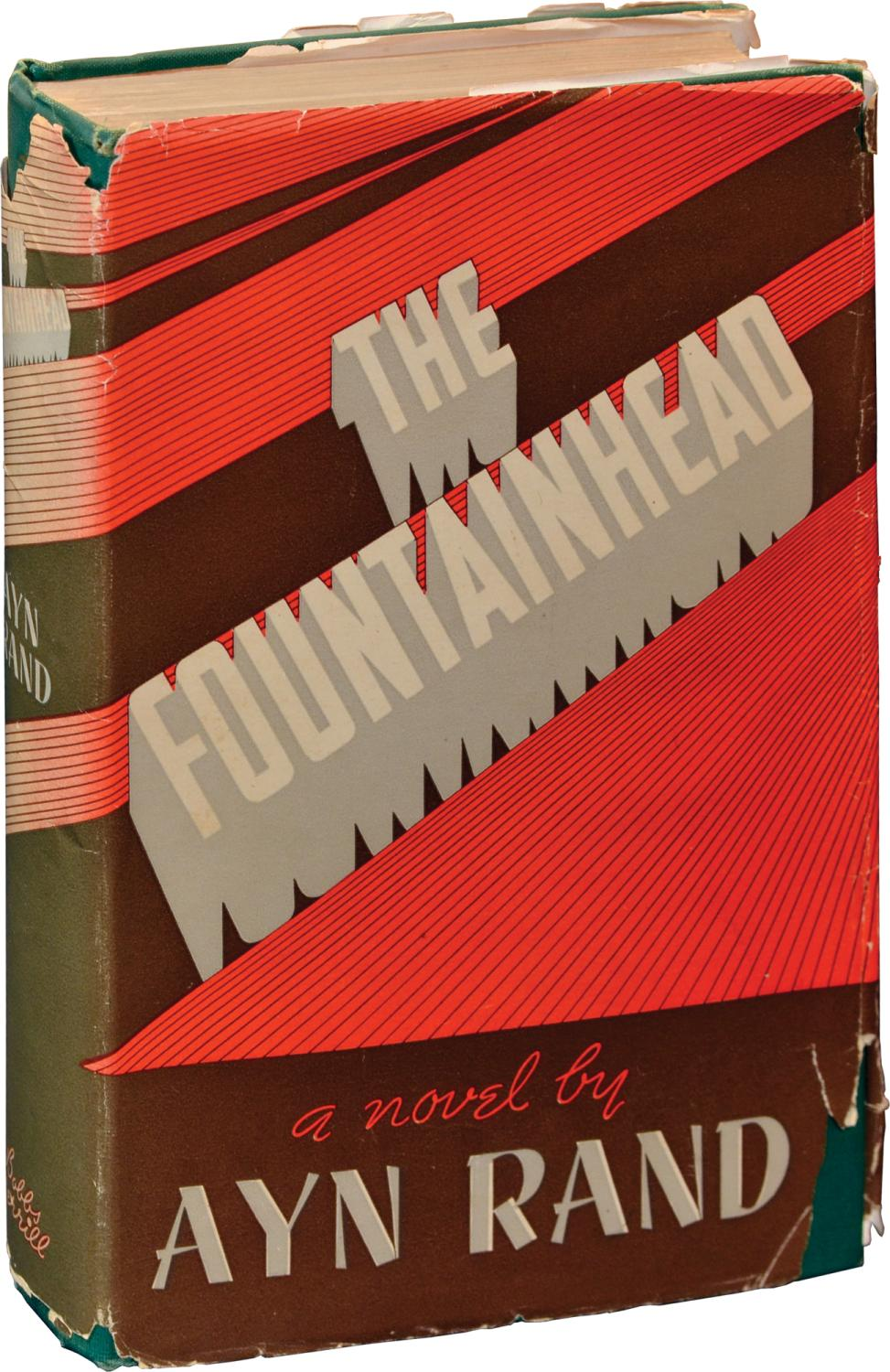a review of the fountainhead by ayn rand The fountainhead by ayn rand a copy that has been read, but remains in clean condition all pages are intact, and the cover is intact.
