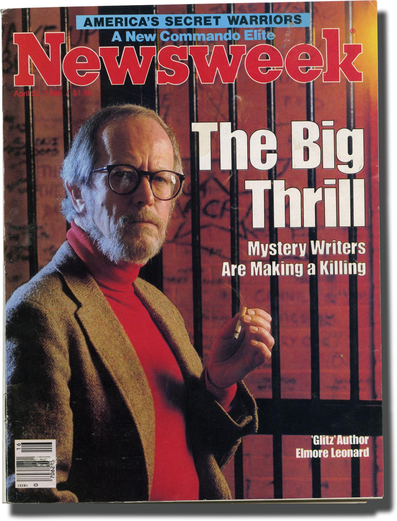 Newsweek Volume CV Number 16 April 22 1985 by Leonard Elmore