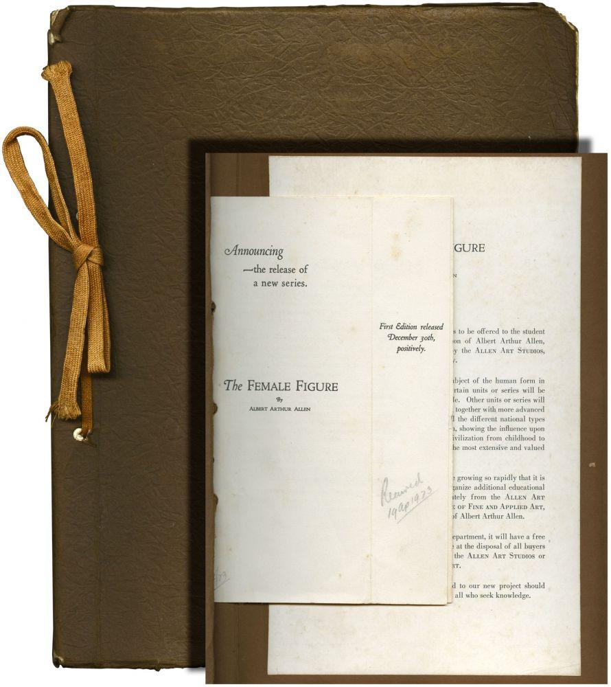 The Female Figure (First Edition) Allen, Albert Arthur Softcover