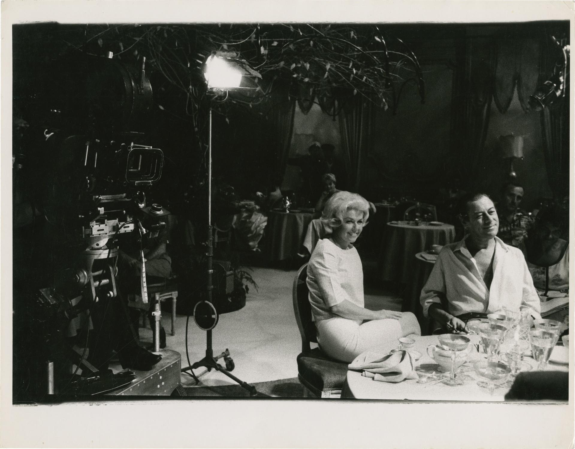 Midnight Lace (Original photograph from the set of the 1960 film): Willoughby, Robert [Bob] (...
