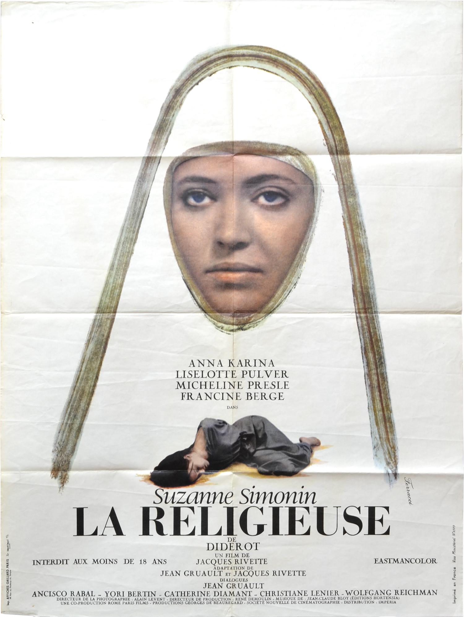 """Résultat de recherche d'images pour """"film la religieuse de rivette"""""""