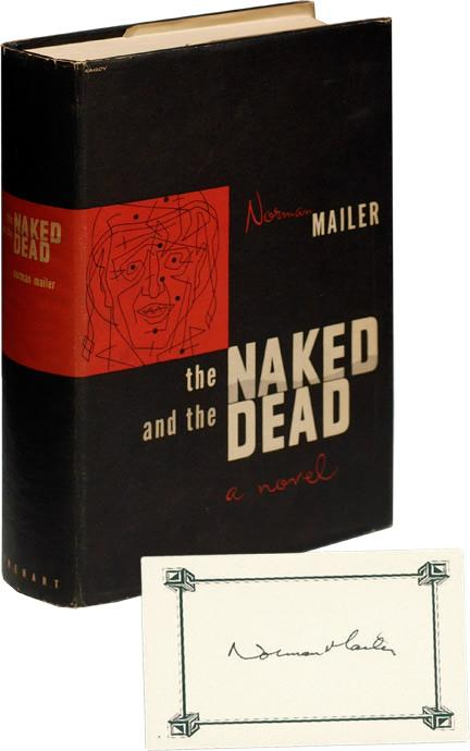 The Naked and the Dead (First Edition, with signed card): Mailer, Norman