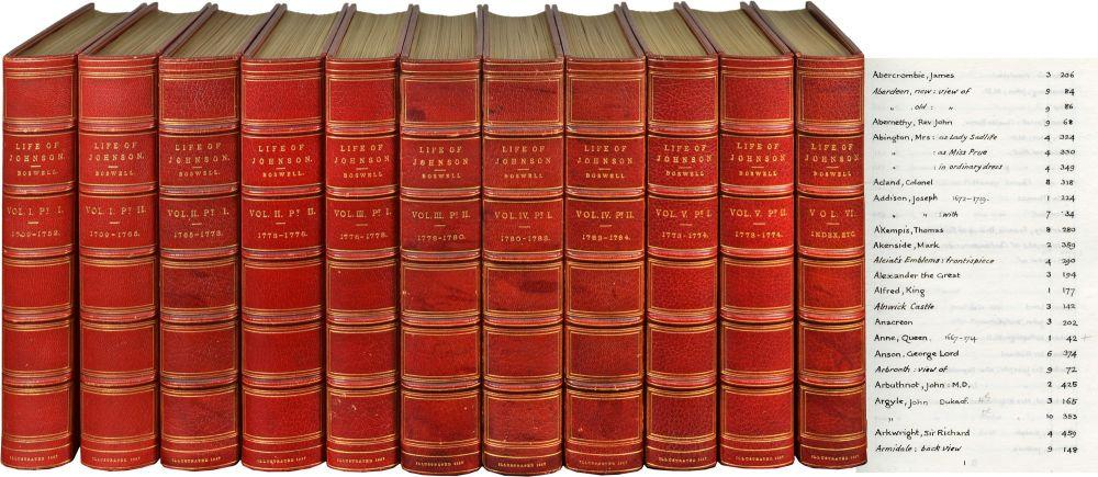 Life of Johnson; Including Boswell's Journal of a Tour to the Hebrides and Johnson's ...