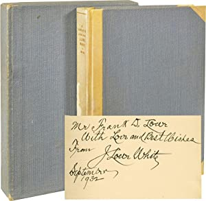 A Narrative of the Life of J. Lowe White, 1850-1932 (Signed First Edition)