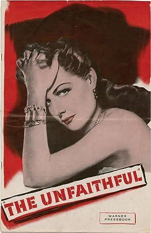 The Unfaithful (Original Film Pressbook): Maugham, W. Somerset