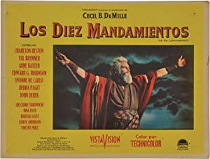 Collection of original cinema lobby cards representing Mexican distribution of American-made films,...