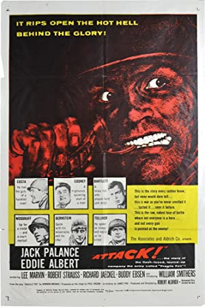 Attack (Original poster for the 1973 film, Style A): Aldrich, Robert (director); Lee Marvin, Jack ...