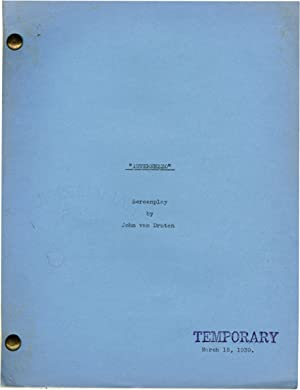 Intermezzo (Archive of scripts for the 1939 film): Ratoff, Gregory (director); John van Druten, ...