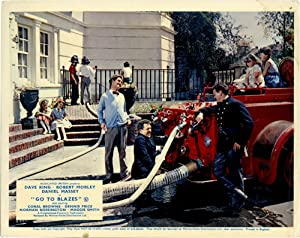 Go to Blazes (Collection of 3 photographs from the 1962 film): Truman, Michael (director); Douglas ...
