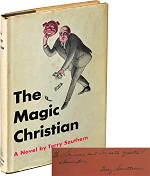 The Magic Christian (First Edition, inscribed to producer Si Litvinoff)