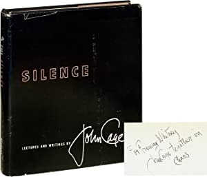 Silence (Signed First Edition): Cage, John