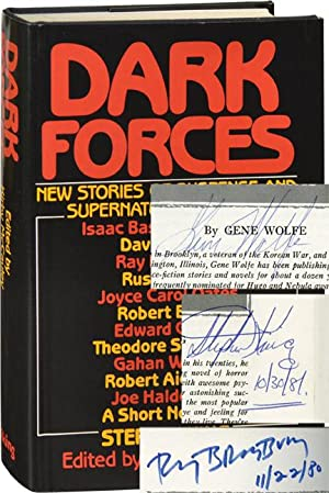 Dark Forces (First Edition, signed by Stephen King, Ray Bradbury, and Gene Wolfe)