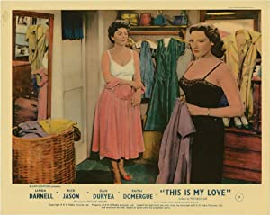 This Is My Love (Collection of 4 photographs from the 1954 film): Heisler, Stuart (director); Hugh ...