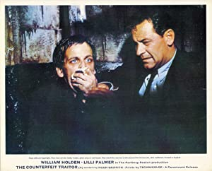 The Counterfeit Traitor (Collection of 3 photographs from the 1962 film): Seaton, George (director,...