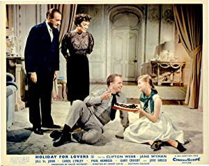 Holiday for Lovers (Collection of 8 photographs from the 1959 film): Levin, Henry (director); ...