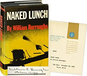 Naked Lunch (First American Edition, review copy, signed): Burroughs, William S.