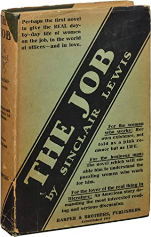 The Job (First Edition): Lewis, Sinclair