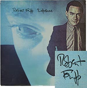 Exposure (Original LP, signed by Fripp): Fripp, Robert