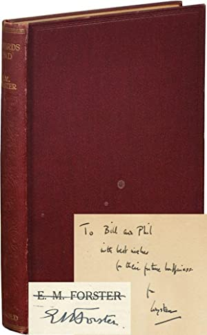 Howard's End (W.H. Auden's copy, inscribed)