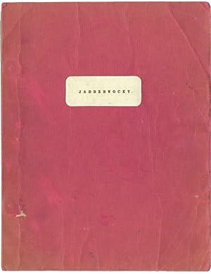 Jabberwocky (Original screenplay for the 1977 film): Gilliam, Terry (director, screenwriter); Lewis...