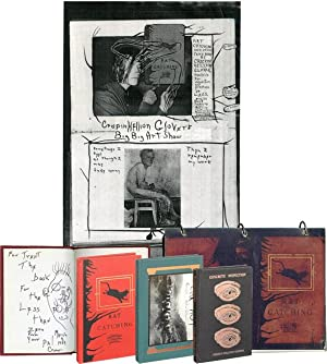 A unique collection of inscribed first editions and ephemera by Crispin Glover, from the collecti...