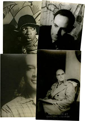 Collection of 16 portrait photographs, including authors, Harlem Renaissance figures, actors, art...