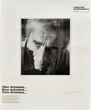 "Original poster for ""Progetto Antonioni,"" promoted at the Cinecittá): Antonioni, ..."