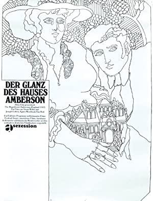 Der Glanz des Hauses Amberson [The Magnificent Ambersons] (Original poster for the 1942 film): ...