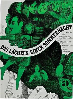 Das Lacheln einter Sommernacht [Smiles of a Summer Night] (Original poster for the 1955 film): ...