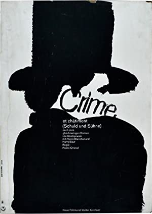 Crime et chatiment [Crime and Punishment] [Schuld und Suhne] (Original poster for the 1935 film): ...