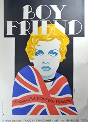 Boy Friend [The] (Original Polish poster for the 1971 film)