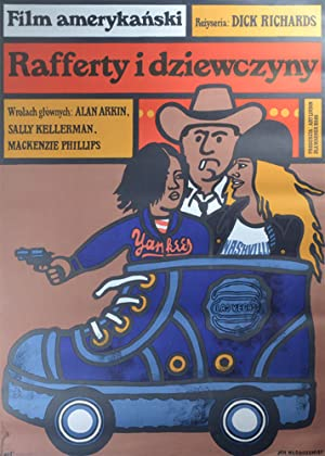 Rafferty i dziewczyny [Rafferty and the Gold Dust Twins] (Original Polish poster for the 1975 film)