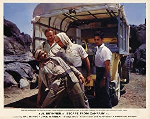 Escape from Zahrain (Collection of 4 photographs from the 1962 film): Neame, Ronald (director); ...