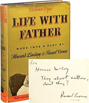 Clarence Day's Life with Father (First Edition, inscribed to Horace McCoy)