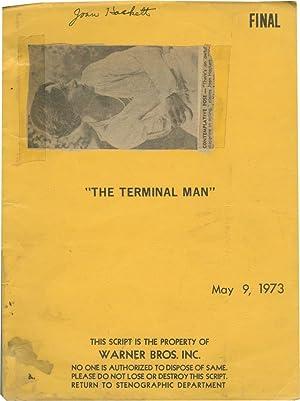 The Terminal Man (Original screenplay for the 1974 film, copy belonging to actress Joan Hackett): ...