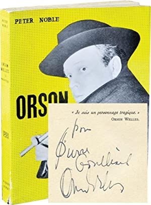 Orson Welles: Le Magnifique (Softcover, inscribed by Welles)