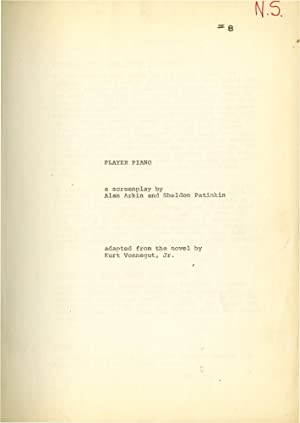 Player Piano (Original screenplay for an unproduced film): Vonnegut Jr., Kurt (novel); Alan Arkin, ...