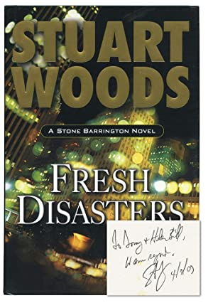 Fresh Disasters (Signed First Edition): Woods, Stuart