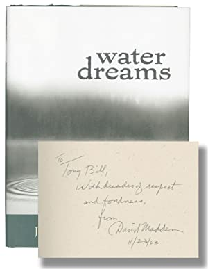Water Dreams (First Edition, Tony Bill's copy): McDonald, Jeanne