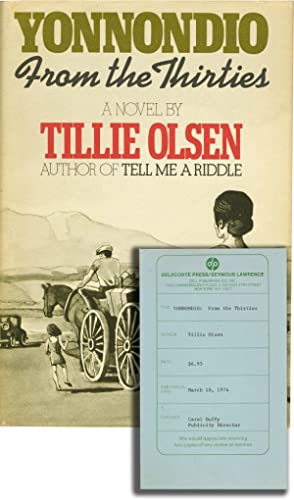 Yonnondio: From the Thirties (First Edition, review copy): Olsen, Tillie