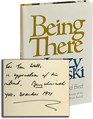 Being There (Signed First Edition): Kosinski, Jerzy