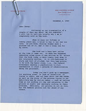 Archive of correspondence between producer Leland Hayward and Daniel Selznick regarding