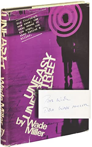 Uneasy Street (Signed First UK Edition): Masterson, Whit